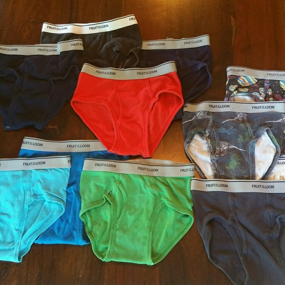 fdef04329adf9a Fruit of the Loom Accessories | 10 Pack Boys Briefs | Poshmark
